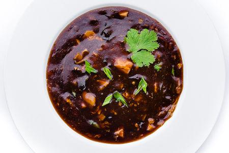 Кисло-острый суп с чилийским сибасом