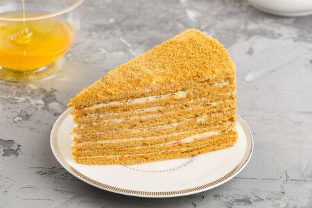 Торт Медовик порционный