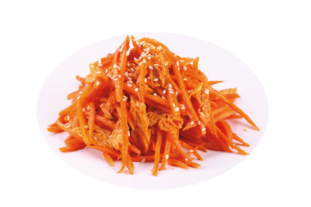 Морковь со спражей