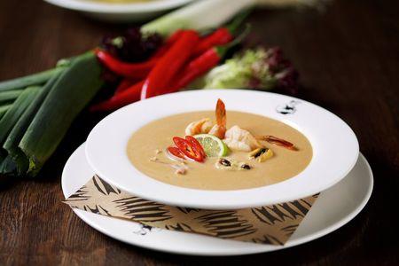 Японский суп Том Ям