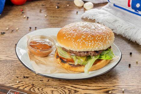 Бургер c говядиной