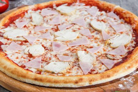 Пицца Курица и ветчина