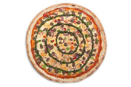 Пицца BBQ с мясом