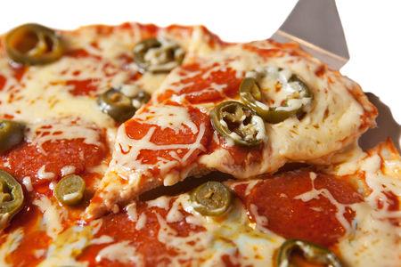 Пицца Пепперони с халапеньо