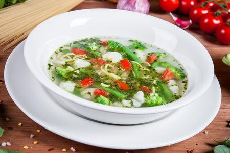Суп Минестроне по-лигурийски