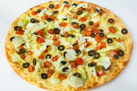 Пицца Брускетта на тонком тесте