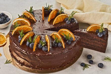 Торт с Бельгийским шоколадом круг