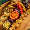 Фото к позиции меню Овощной шашлык