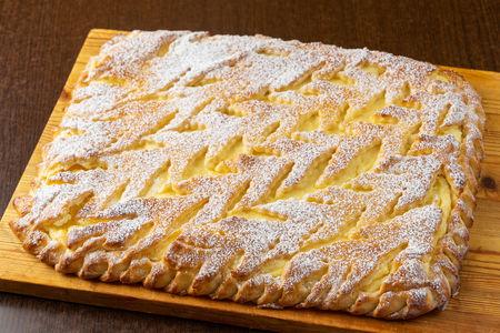Пирог с творожной начинкой по-венски