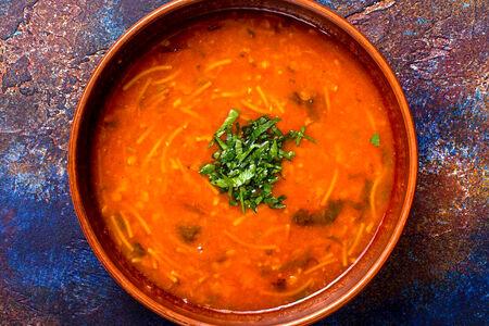 Суп Харира с бараниной и нутом