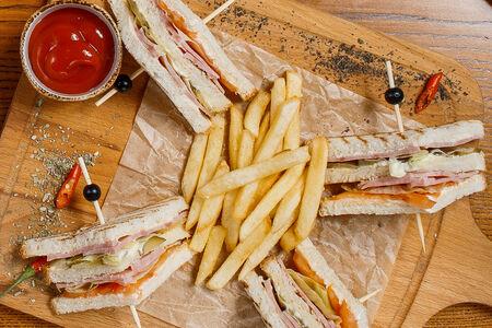 Клаб сэндвич Ветчина