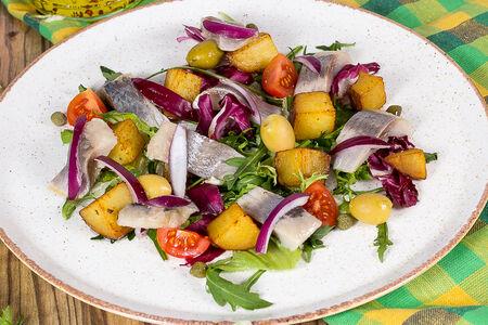 Салат с сельдью по-итальянски