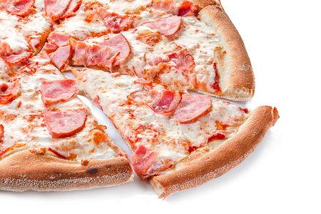 Пицца Ветчина и бекон