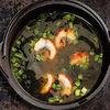Фото к позиции меню Мисо-суп с копченым угрем