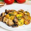 Фото к позиции меню Картофель беби с грибами