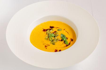 Крем-суп с тыквой