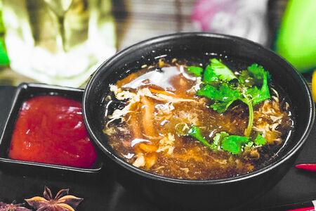 Остро-кислый суп по-сычуаньски