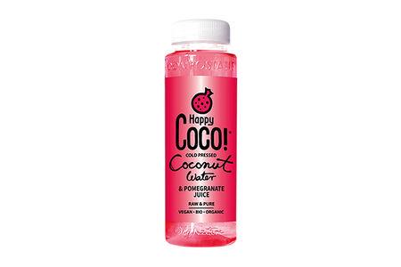Кокосовая вода с гранатовым соком Happy Coco