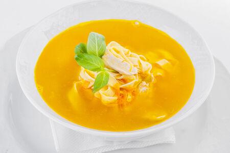 Суп Куриный с домашней пастой