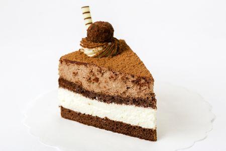 Пирожное Два шоколада