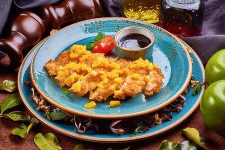 Хрустящий цыпленок с манго