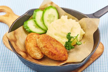 Котлеты куриные с сыром