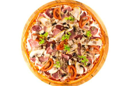 Пицца Мясная от шефа на углях