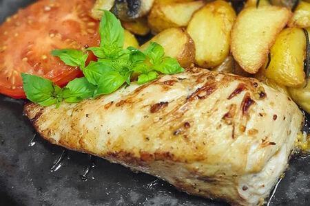 Филе куриное с сыром Дор Блю