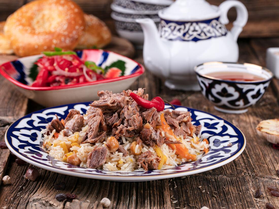 Меню узбекской кухни с фото пошагово