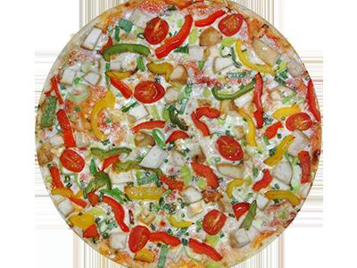 Пицца Куриная с овощами