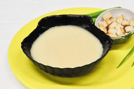 Крем-суп гороховый с гренками