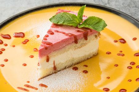 Десерт Малиново-Творожный