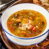 Фото к позиции меню Овощной суп по-грузински