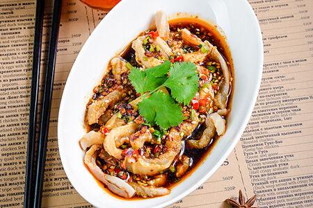 Телячий желудок с сычуаньским перцем