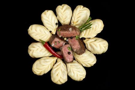 Пельмени ручной лепки БифПели с мраморной говядиной