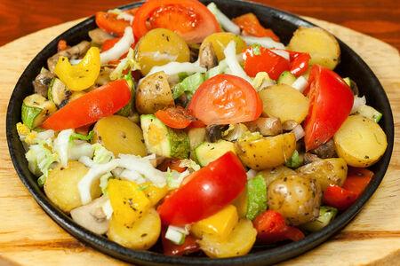 Овощная сковорода