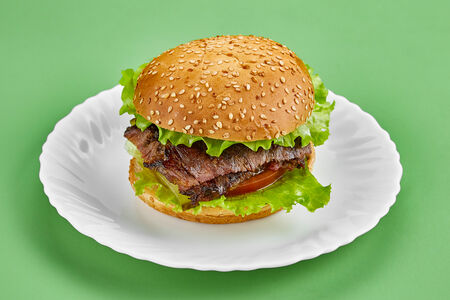 Шаурма-бургер говяжий
