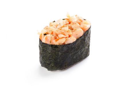 Суши спайс с креветкой