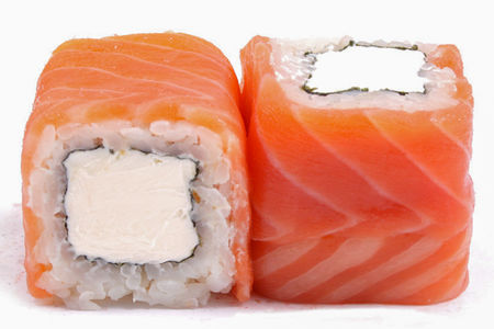 Роллы сложные Чиз лосось