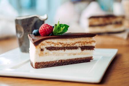 Торт Шоколадно-сметанный