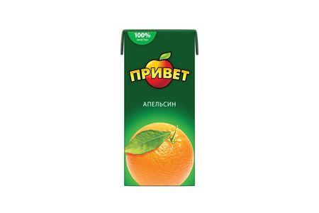 Сок Привет Апельсиновый