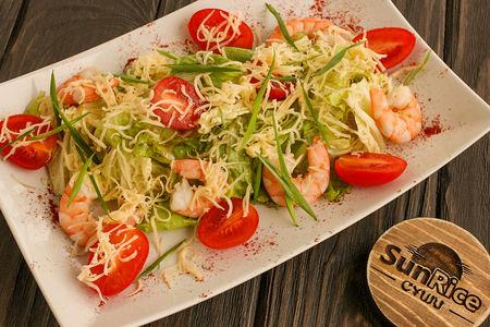 Салат с креветками Премиум