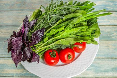 Овощной букет Баку
