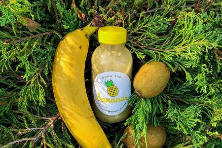Смузи Банан-Киви