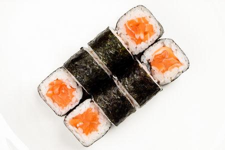 Ролл Лайт с лососем