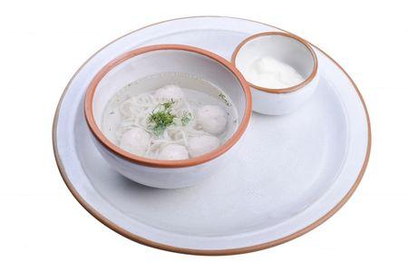 Суп Куриный с фрикадельками