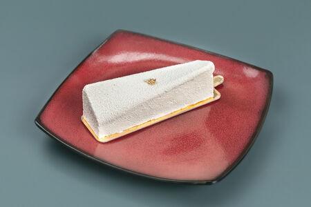 Мусс Белый шоколад с клубникой