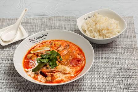 Суп ТомЯм Чайна Таун