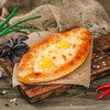 Фото к позиции меню Дабл хачапури по-аджарски