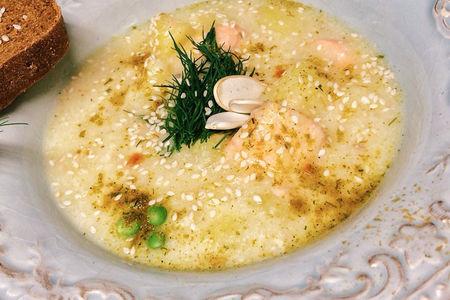 Финский суп с лососем